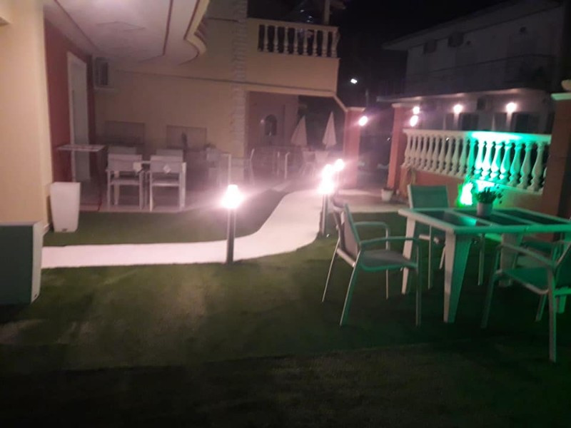 Garden at the night